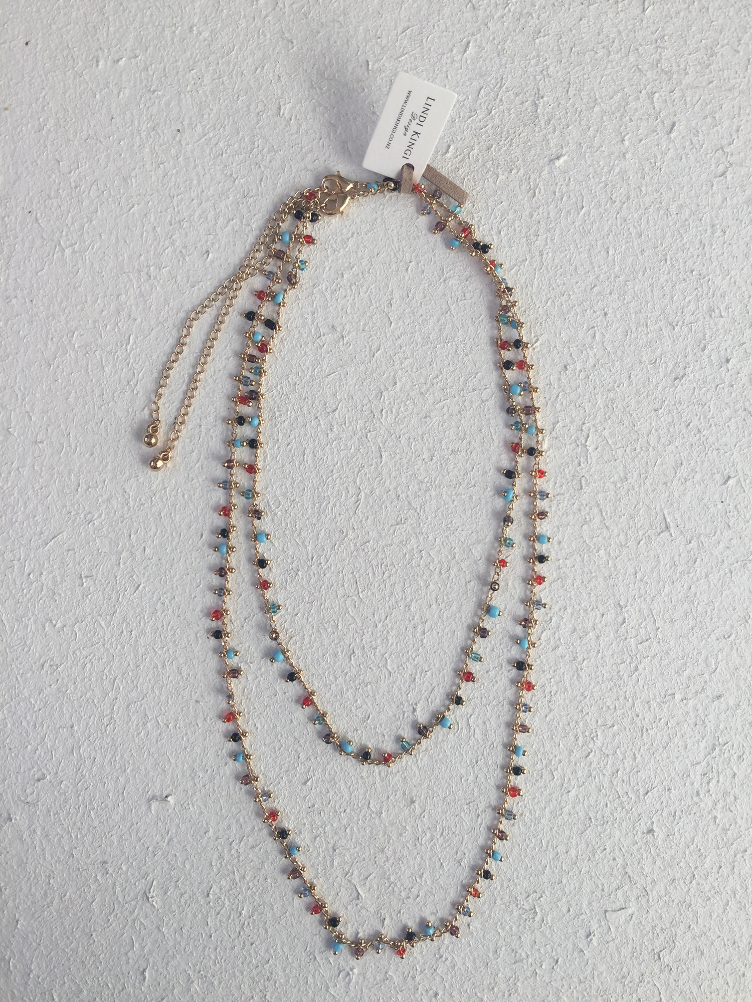Double Layer Turkish Necklace